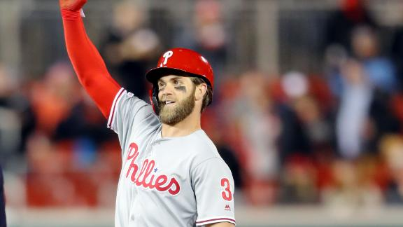 Bryce Harper Booed Loudly in Return to D.C.