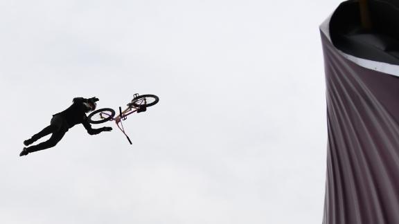 Ryan Williams wins BMX Big Air gold
