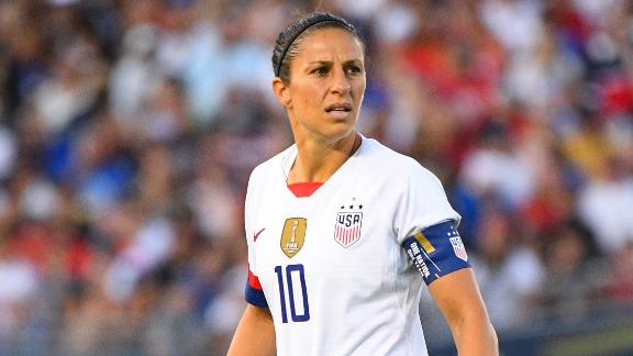 Morten Andersen offers to prepare Carli Lloyd for the NFL