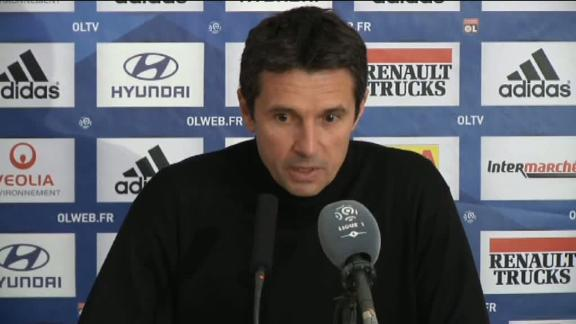 Remi Garde bemoans unfair defeat