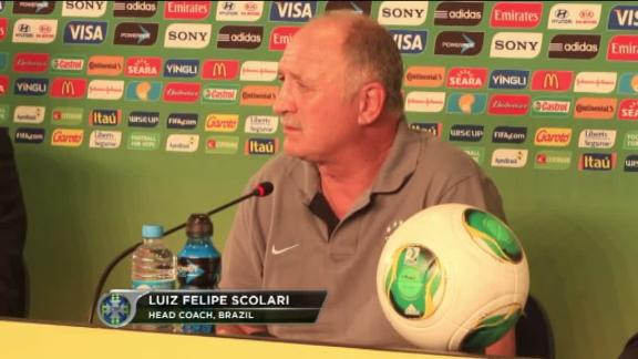 Scolari: Protests won't overshadow World Cup
