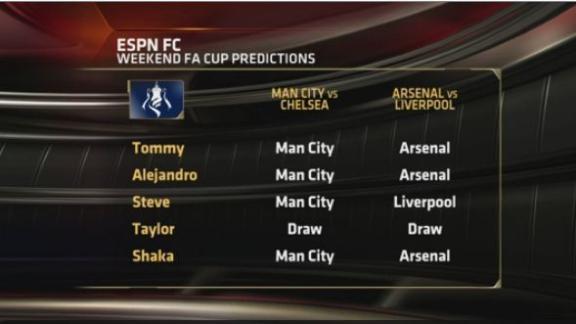 ESPN FC: FA Cup predictions