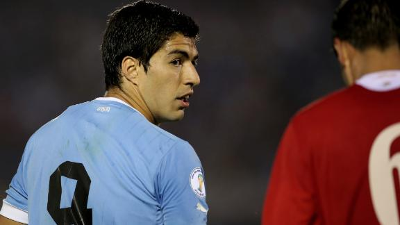 A Portrait Of Luis Suarez