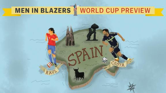 Men in Blazers: Are Spain favourites?
