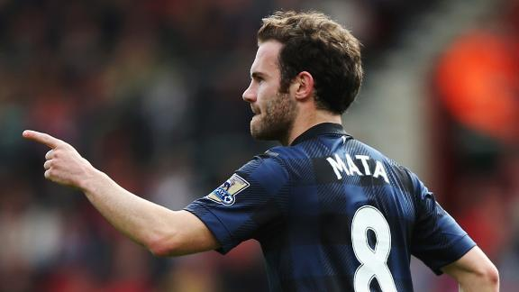 Mata eyes trophies with Van Gaal