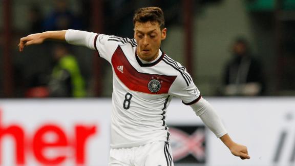 #WorldCupRank: 29 - Mesut Ozil