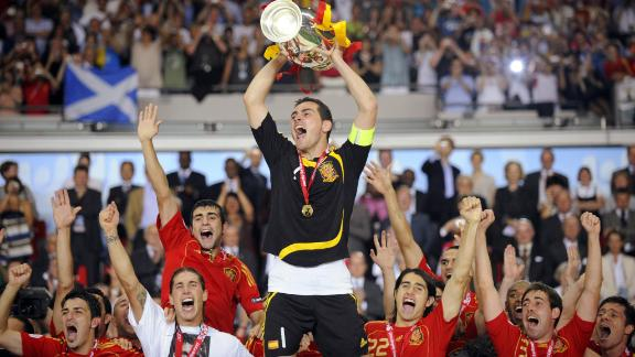 Hunter: Spain's first treble celebration