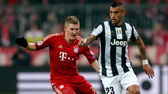 Arturo Vidal lands at #16
