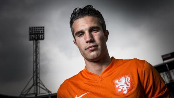 High-flying van Persie lands at #13