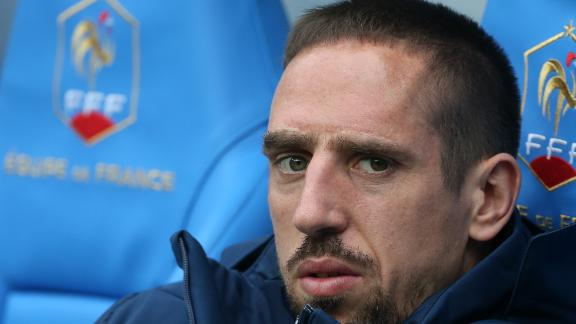 Ribery replaced by Remy Cabella
