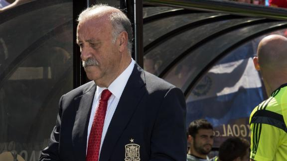 Del Bosque optimistic about Spain's chances