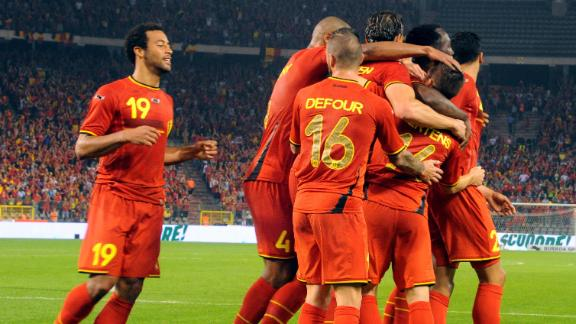 Belgium looking to alter formation