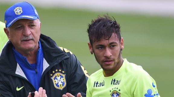 Neymar's burden to bear