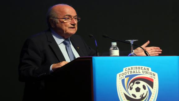 Blatter rebukes 'racist' corruption claims