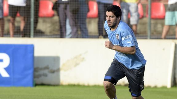 Suarez fitness will determine Uruguay sucess