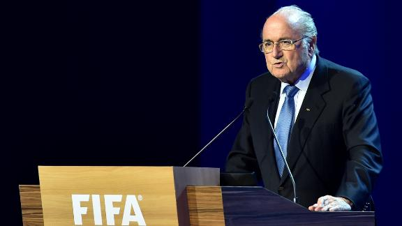 Blatter caught in a firestorm