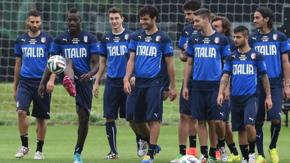 Azzurri set to face England