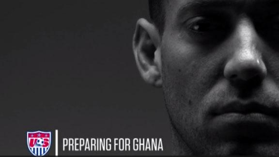 Inside USMNT preparing for Ghana