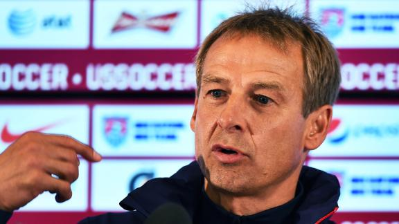 Klinsmann addresses negative comments