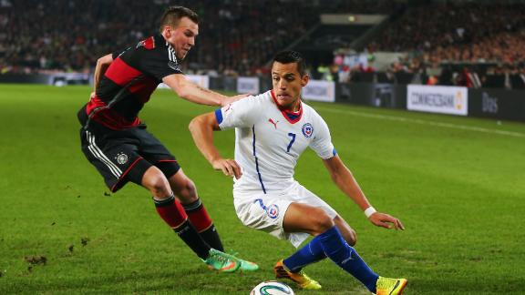 Will the Chileans top Australia?