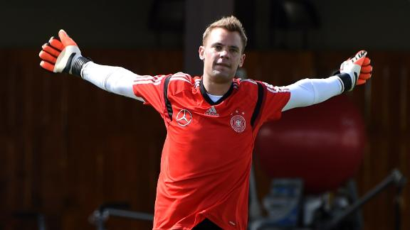 Manuel Neuer to start against Portugal