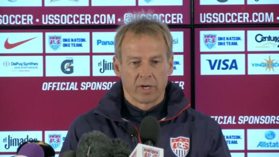 Klinsmann looking for winning start