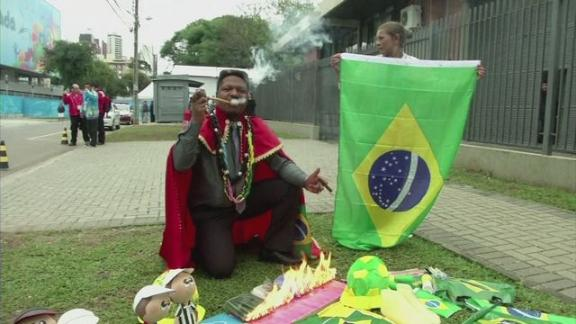 World Cup witch doctor warns Messi and Brazil