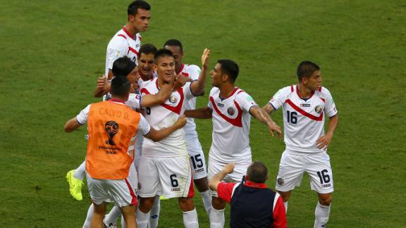 HIGHLIGHTS: Uruguay 1-3 Costa Rica