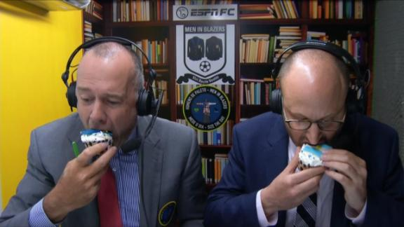 World Cupcakes: Argentina vs Bosnia-Herzegovina