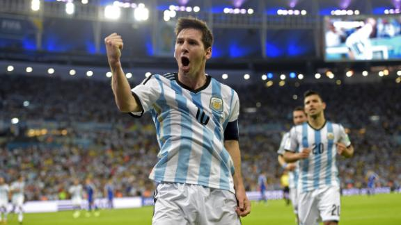 Messi leads second-half spark for Argentina