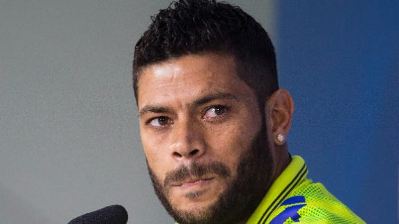 Hulk battling injury to face Mexico