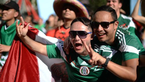 Mexico given warm welcome in Fortlaleza