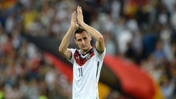 Klose's presence vital to Germany