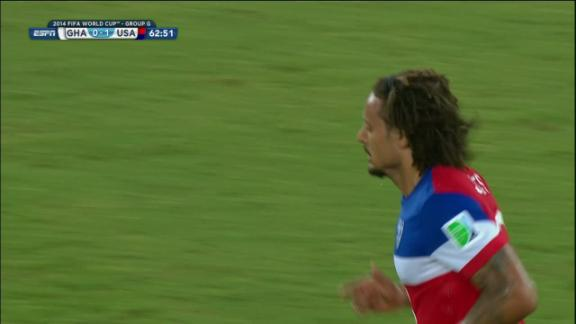 Jermaine Jones (United States) Shot On Target at 63'