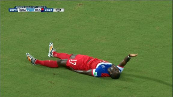 Altidore stretchered off with injury
