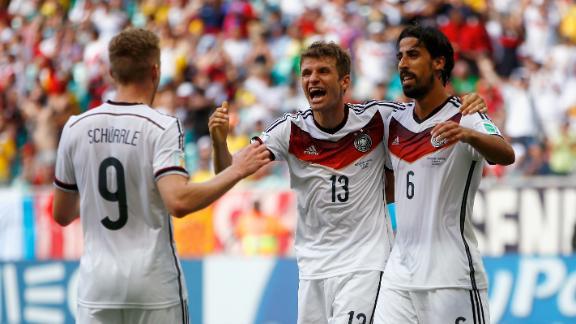 Germany easily handles Ronaldo, Portugal