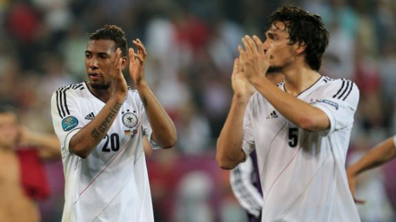 Boateng and Hummels did not train with squad