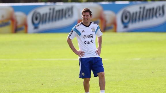 No resting time for Messi and Argentina