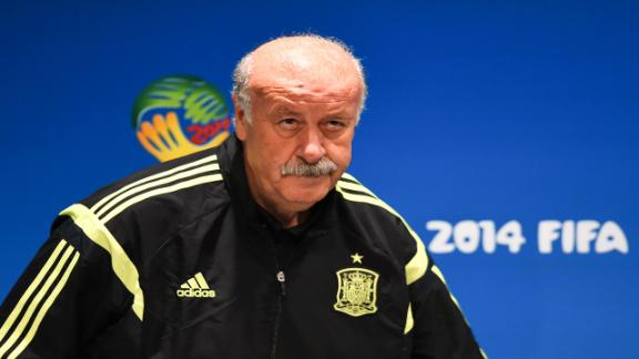 Del Bosque: We're still hurting