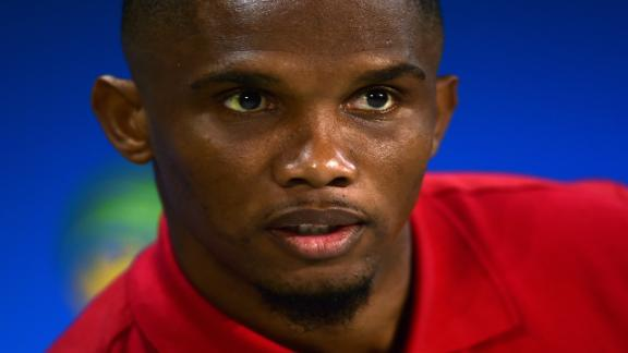 Eto'o hits out at treason accusations