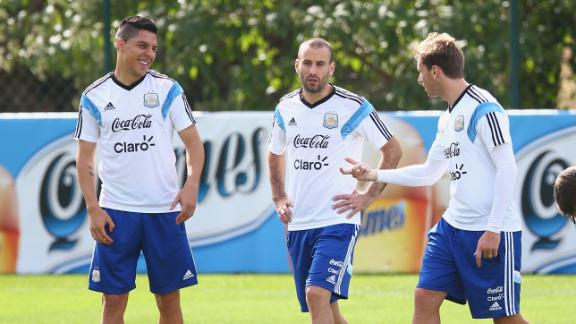 Pressure to perform for Argentina