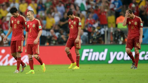 The end of an era for Spain