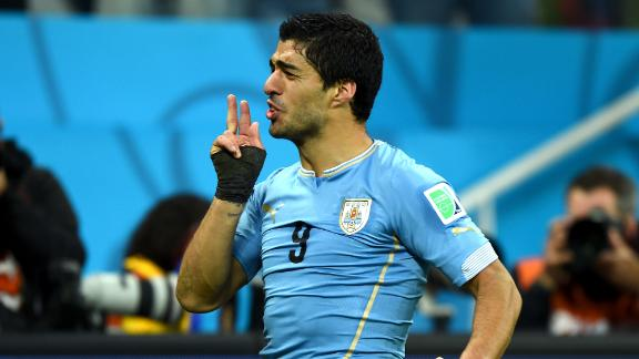 Suarez doubles up