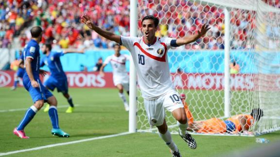 Costa Rica topple Italy