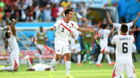 Costa Rica rise to the occasion
