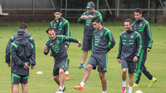No changes for Mexico against Croatia
