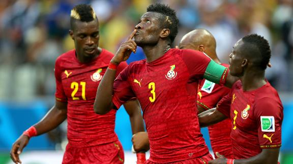 Ghana pull out all the stops against Germany
