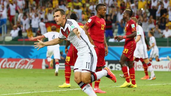 Klose denies Ghana