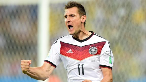 Player of the day: Miroslav Klose