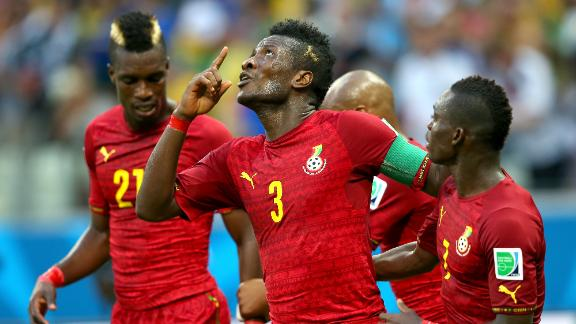HIGHLIGHTS: Germany 2-2 Ghana